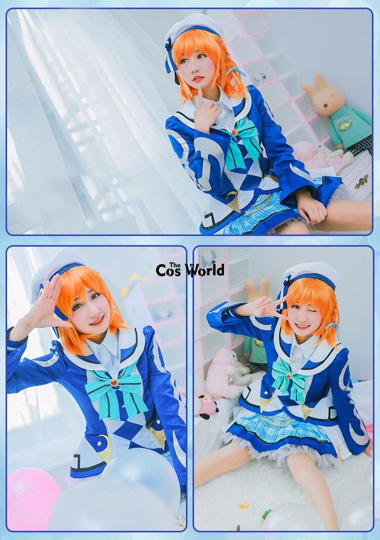 Love Live Sunshine Aqours OP2 Fight Song Takami Chika Sakurauchi Riko Ohara Mari Coat Tops Dress Uniform Outfit Cosplay Costumes