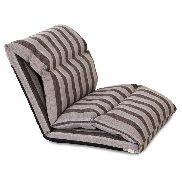 Floor Seating Folding Adjule Sleeper Chair Sofa Living Room Furniture 4 Color Lazy Couch Modern Single
