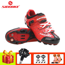 SIDEBIKE 2019 pro cycling shoes mountain bike scarpe ciclismo mtb Ultralight spd pedals men women Athletic superstar sneakers цена