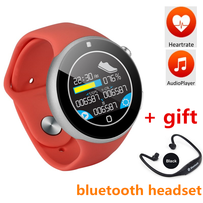 GOLDENSPIKE Bluetooth smart watch c5 with heart rate monitor waterproof sports watch pedometer for ios android smartphone sim heart rate smart watch wearable devices with sleep monitor pedometer sports bluetooth 4 0 smartwatch for ios and android phone