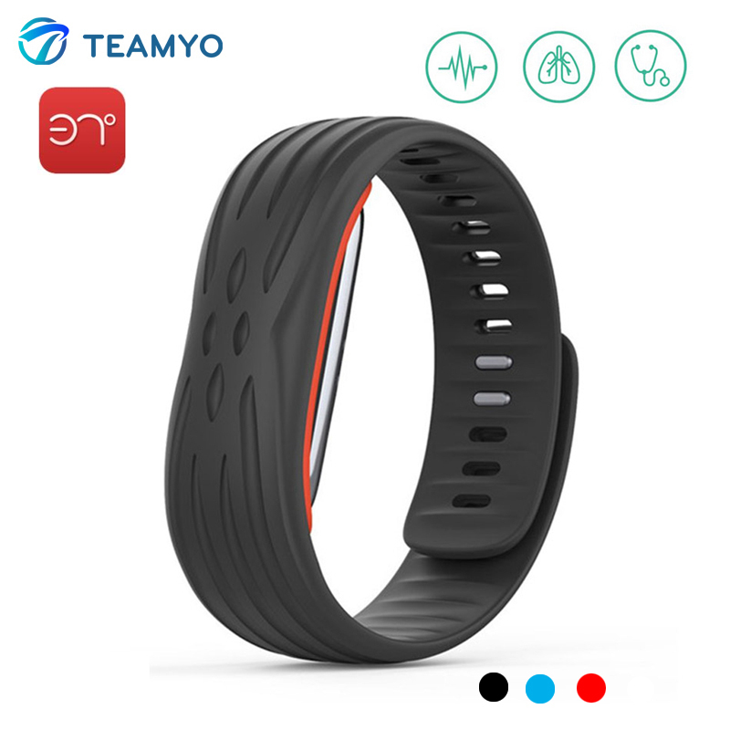 37 Degree Bluetooth Smart Band Heart Rate Band Blood Pressure Fitness Tracker Wristband With Passometer Sport Smart Bracelet