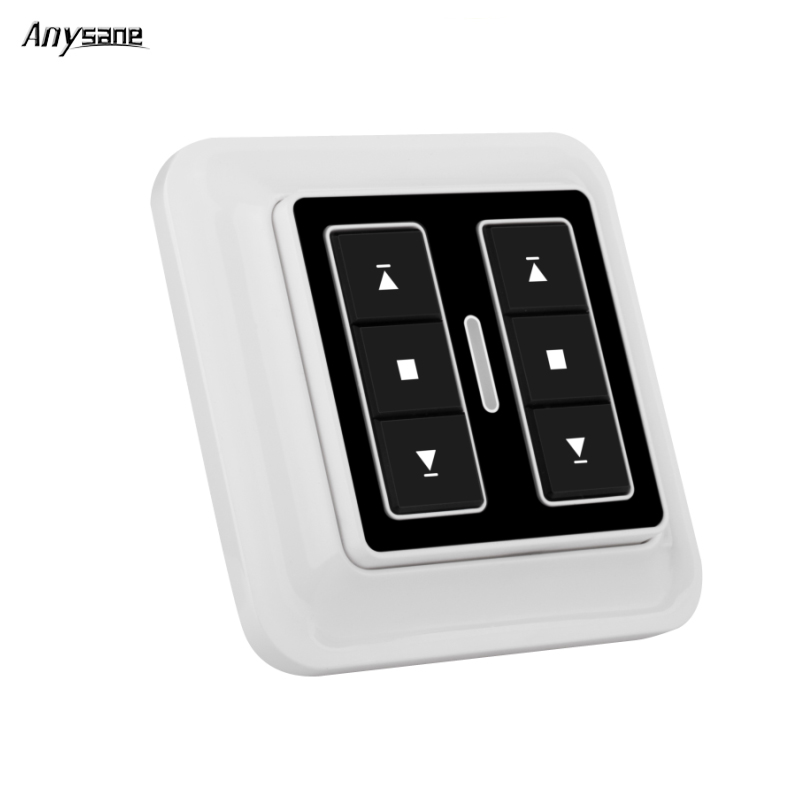 Universal garage door remote control controller switch portable wall switch 2CH rf remote receiver transmitter for smart home dc24v remote control switch system1receiver