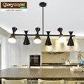 Qiseyuncai скандинавский Макарон стиль гостиная люстра творческая личность ресторан спальня бар простое современное освещение