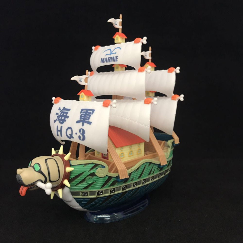 ONE PIECE Grand ship Collection Thousand Sunny Ship Boat Figure Model Toy Collectibles Model one piece doll figure thousand sunny going merry pirate ship model