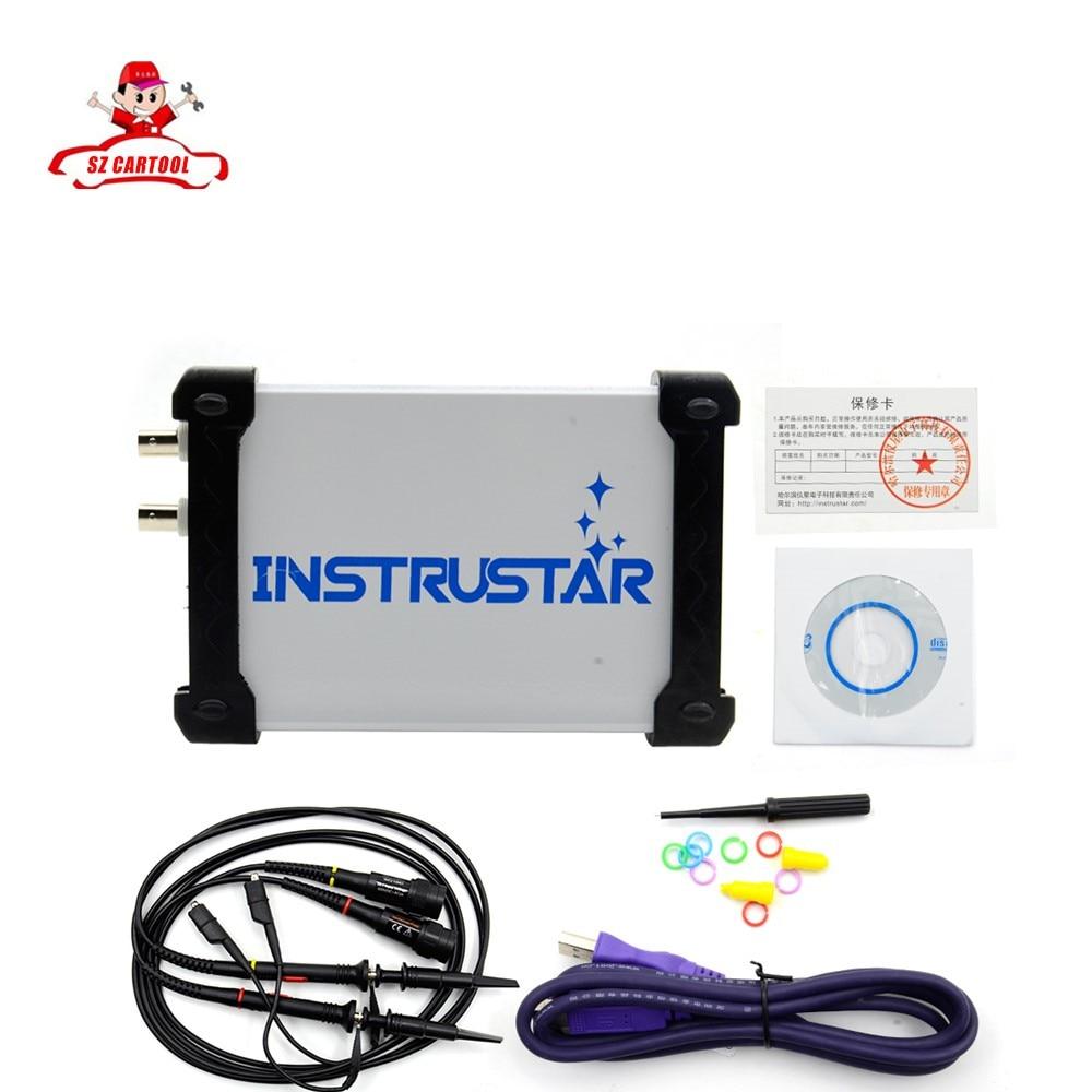 ФОТО MDSO ISDS205A New upgrade 3 IN 1 Multifunctional 20M PC USB virtual Digital oscilloscop+spectrum analyzer+data recorder