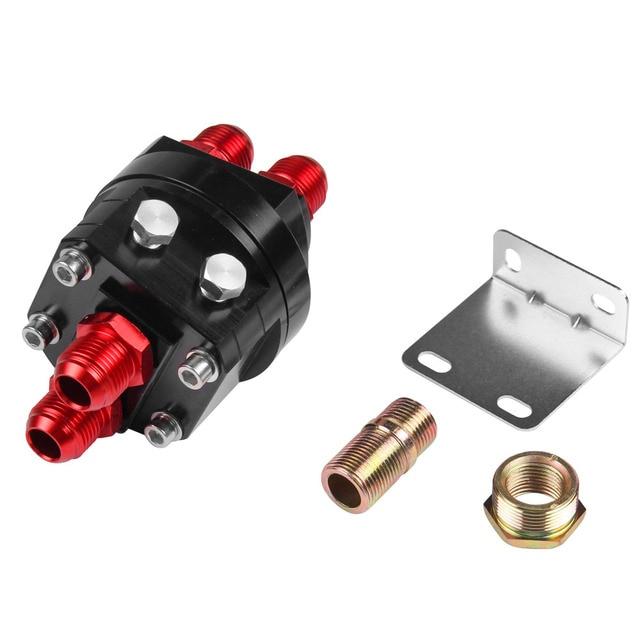 FIFAN M20 Oil Filter Relocation Male Sandwich Fitting Adapter Kit 3/4X16 / 20X1.5