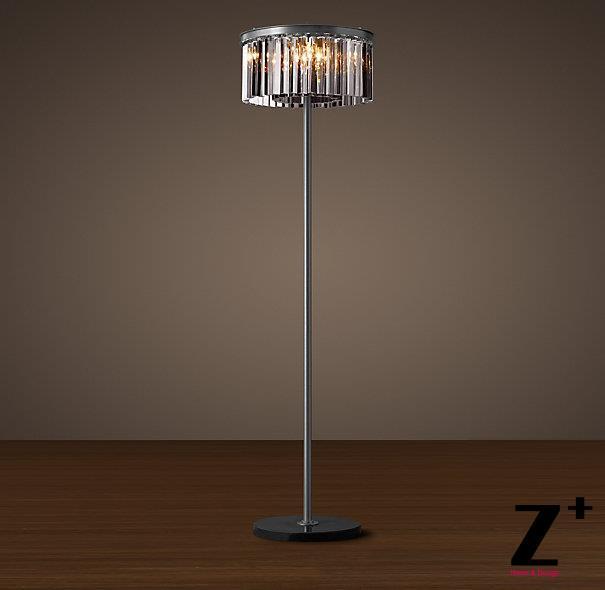 glass floor lamp. Replica Item Industrial Lamp 1920S RHYS SMOKE GLASS PRISM FLOOR LAMP K9 Lustre CRYSTAL Free Shipping-in Floor Lamps From Lights \u0026 Lighting On Aliexpress.com Glass
