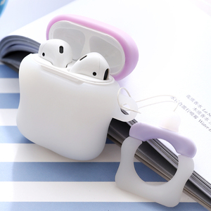 Image 5 - Applicable to Airpods1 bottle silicone case AirPods2 skin protection cover Bluetooth wireless headset box pacifier