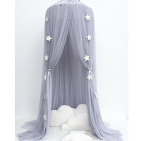Children Hung Dome Bed Curtain Tent Baby Bed Mosquito Net Play Tent Hanging Kids Teepees For