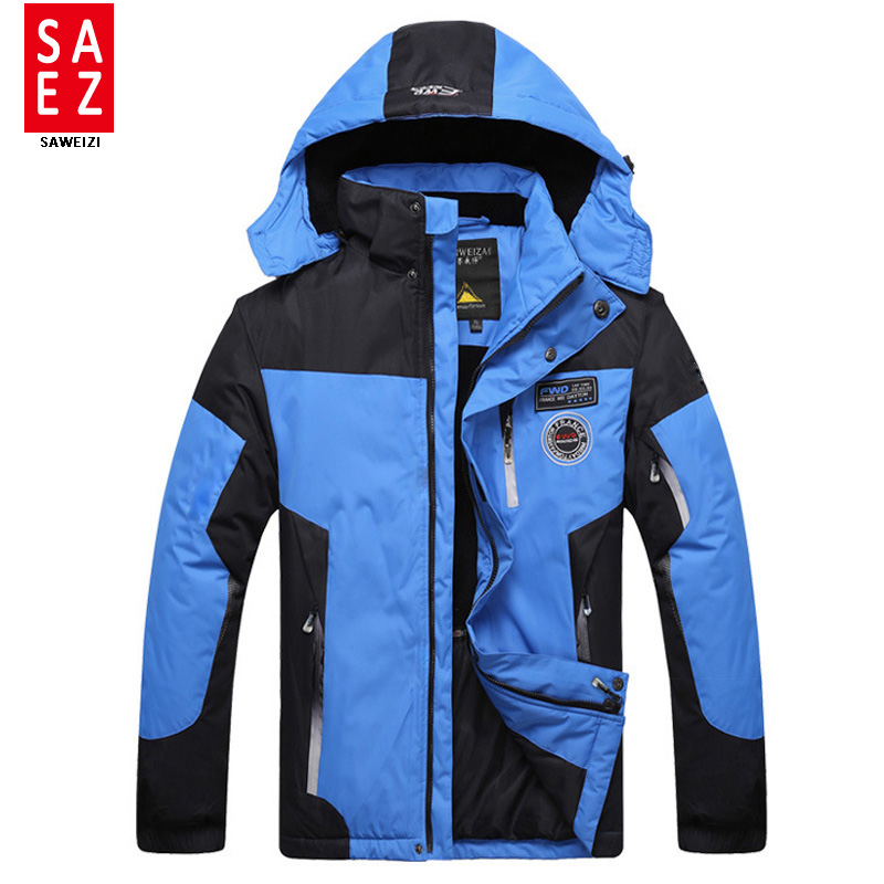 Prix pour 2016 Nouveau Ski Veste Hommes D'hiver Imperméables Neige Veste Thermique Manteau Pour Mountain Outdoor Ski Snowboard Veste Marque