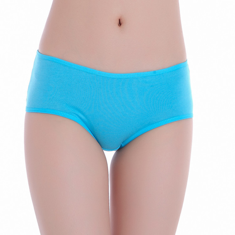 Cotton Women Panties Underwear Briefs High Quality Plus Size  Ropa Interior Femenina Underpants Soft Dropshipping Mid Waist 15