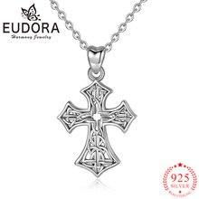 Женское Ожерелье с кулоном eudora из подлинного стерлингового