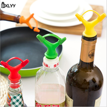 BXLYY hot 3PC double head leakproof soy sauce bottle stopper wine pourer christmas decorations for home party decoration mask.7z