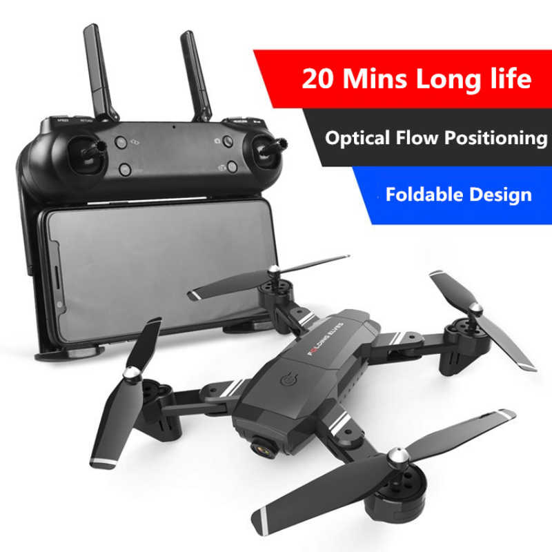 Professionele Antenne Afstandsbediening Drone Model S6 2.4G 1080P Optische Stroom Follow Me Dual Camera Selfie Wifi Fpv rc Drone