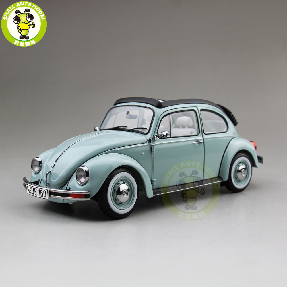 все цены на 1/18 Schuco VW Beetle 1600 Convertible Car Diecast Car Model Toys for Kids Children Gift Collection онлайн