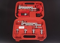 8pcs Kit Flaring Tool Set For Ream Copper Tube Aluminium Pipe 3 19mm With A Tube