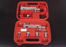 8 unids/kit de herramienta de la quema conjunto de resma tubo de cobre tubo de aluminio 3-19mm con un tubo cortador, herramientas de reparacion de aire acondicionado