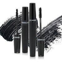 Long Lasting 2Pcs Set Pro Eye Lash Extension Mascara Eyelash Long Curling Black 3D Fiber Lashes