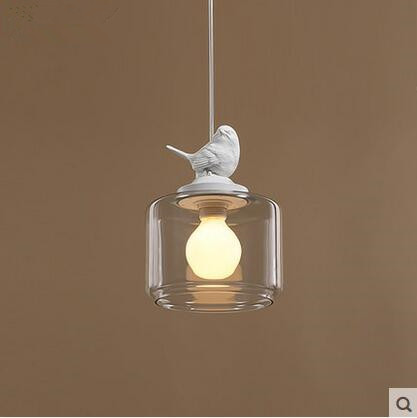 все цены на LED creative restaurant cafe bar bird children room 31w - 40w single head droplight glass 220v-240v @-9