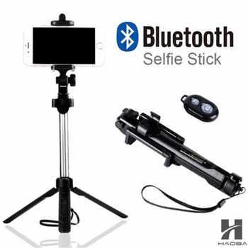 FGHGF T1 2018 trépied monopode selfie bâton Bluetooth avec bouton Pau De Palo selfie bâton pour iphone 6 7 8 plus Android bâton