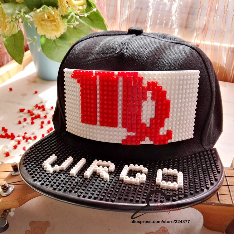 New Custom Blocks Design Diy Bricks Tmnt Hip Hop Cap Outdoor Cartoon Men Women Fashion Hat Cool Baseball Caps Apparel Accessories Boy's Accessories