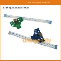 Chengchengdianwan 30 компл./лот = 120 шт. высокого качества 12pin и 14pin заряд доска со шлейфом для PS4 контроллер