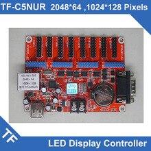 TF C6NUR/TF C5NUR Longgreat יציאה טורית אסינכרוני USB TF כרטיס בקרת תצוגת LED יחיד צבע כפול