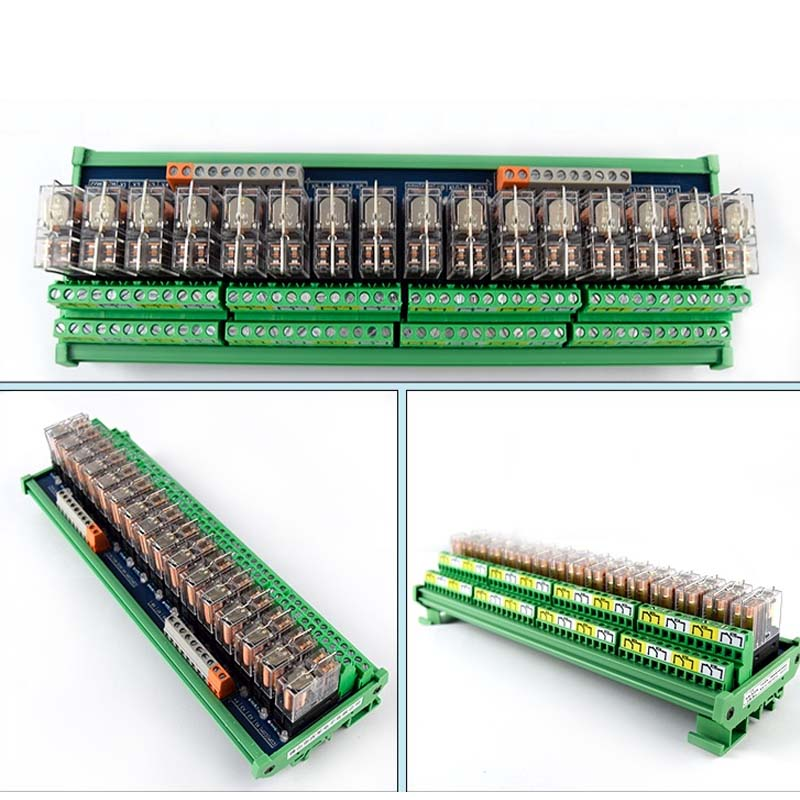 16 way relay module G2R 2 PLC amplifier board relay board relay module 24V12v compatible NPN PNP in Relays from Home Improvement