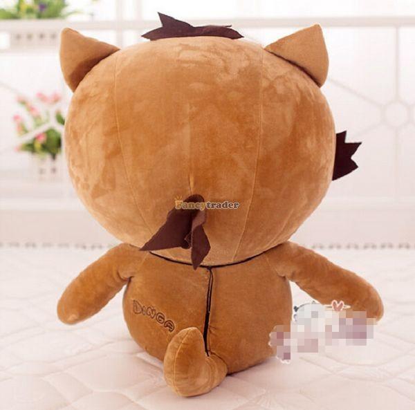 Fancytrader 35\'\' 90 Korean TV Soaps Plush Stuffed Lzay Dinga Cat, Free Shipping FT50250 (5)
