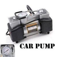 Оптовая продажа; 12 В воздушный компрессор 150 psicar шин Надувное двойной металлический цилиндр автомобильных шин мини высокой Давление воздуш