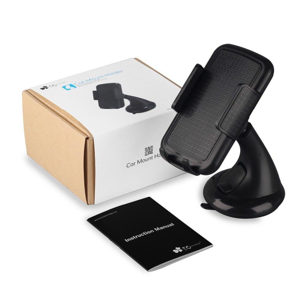 Universal Car mobile phone holder stand Ec Technology Phone Holder 360 Degree Rotating universal phone car