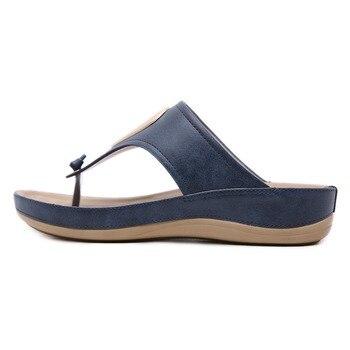 CEYANEAO, chanclas para mujer, sandalias tipo Chanclas, sandalias metálicas de verano para la playa, zapatos informales plataforma, tacones con cuña, pantuflas gruesas