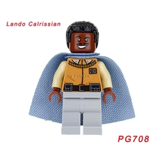 Single Sale Lando Calrissian Han Solo Star Wars Desert Skiff Escape Bricks Assemble Building Blocks Best