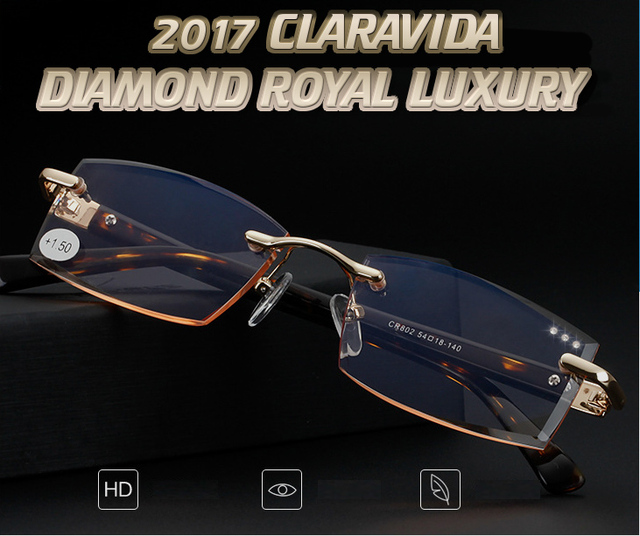 =LIMIT DISCOUNT= Men women unisex diamond cut stylerish commercial dignity special made reading glasses +1 +1.5 +2 +2.5 +3