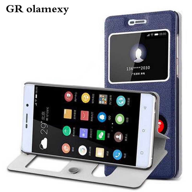 GR olamexy Flip PU Leather Plastic Cover Funda for Highscreen Power Five Pro Free Shipping mobile Cell Phones CoqueShell Cases