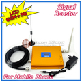 Display LCD!!! 3G W-CDMA UMTS 2100 MHz GSM 900 Mhz Dual Band Cell Phone Signal Booster 2G 3G Sinal repetidor com Antena