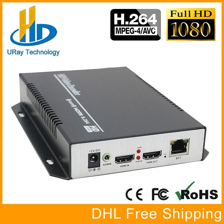 Vente chaude Produit H264/H.264/H 264 HDMI Codeur HDMI À IP Streaming Encodeur Matériel Décodeur Pour IPTV Diffusion En Direct RTMP UDP