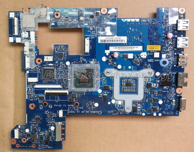 SHELI laptop Motherboard for Lenovo G480 LA-7982P with integrated graphics card rev:1.0 QIWG5 HDMI 100% tested Fully