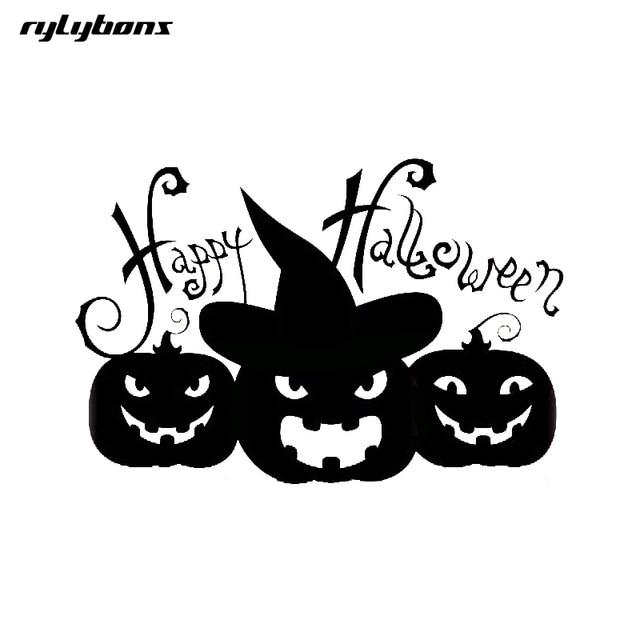 rylybons car sticker anime pumpkin brothers happy halloween 11 5