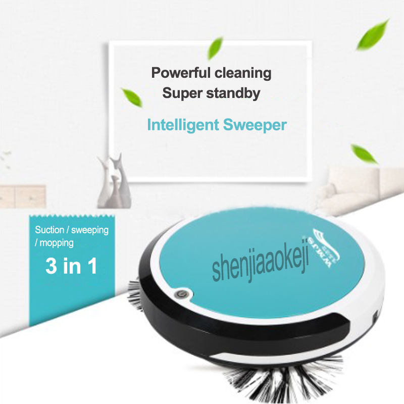 New upgraded intelligent sweeping machine Household automatic sweeper Suction/sweeping/mopping integrated machine 10-220v 8w 1PCNew upgraded intelligent sweeping machine Household automatic sweeper Suction/sweeping/mopping integrated machine 10-220v 8w 1PC