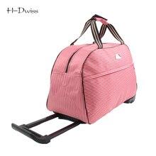 Petit Roues Duffle Chariot Sac Femmes Doux Bagages Voyage Sacs sur Roues De Mode Designer Polochon Imperméable Sacs Emballage cubes