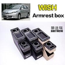 Для Toyota wish row передние перила коробка набор общий бизнес подлокотник центральный магазин бизнес автомобиль 3th 15CM16CM