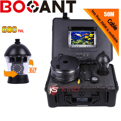 50m Professional Fish Finder Underwater Fishing Video Camera Monitor 7 Inch 50m Cable ccd700TVL  Night Vision Fishing Finder 2 4g wireless fish finder underwater fishing camera video free soft app 50m underwater breeding monitoring for fish searching