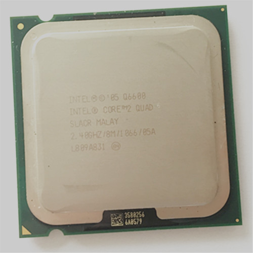 intel core 2 Q6600 CPU QUAD core 2.4GHz/ LGA775 /8MB L2 Cache FSB 1066 mhz cpu q6600 processor