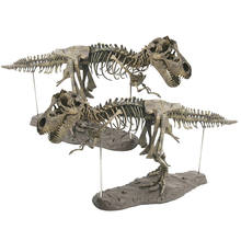 Children Educational Science Toy Large 4D Assembling Dinosaur Children's Toys Skeleton Simulation Animal Model Drop shipping(China)