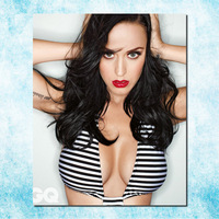 Katy Perry Art Silk Canvas Poster Print 24x30 Inches Sexy Music Star Girl Pictures For Bedroom