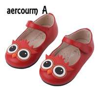 Aercourm A Spring Autumn 2017 Children Shoes Cow Genuine Leather Casual Shoes Girls Snekaers Flats Shoes