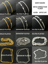Hot selling Xmas+ Wholesale 42cm Iron Made snake chains necklace $0.99 for 2 pcs, Multi Colors, wedding party Gift PS-FLB(China)