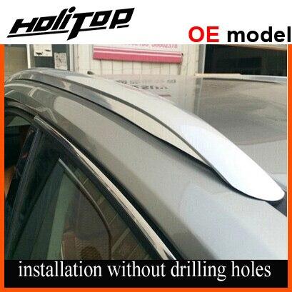 OE modèle rail de toit/barres de toit bar pour LEXUS NX NX300h 200 T, surface polie, fix par 3 M colle, épais en alliage d'aluminium, excellente qualité