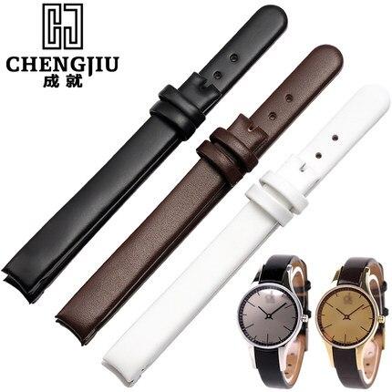 10mm Ladies Leather Watchband For Calvin Clein For CK K4323209 K4323116 K43231LT Bracelet Belt Strap Mujer Femme Montre Pulseira